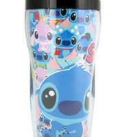 Blue Stitch Travel Coffee Mug - Lilo and Stitch Coffee Mug
