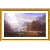 Great American Picture Mt. Whitney Gold Framed Print - Albert Bierstadt - 5509-Gold - All Wall Art - Wall Art & Coverings - Decor