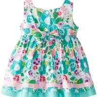 Youngland Baby-Girls Newborn Floral Print Dress