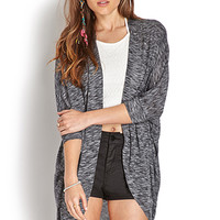 Pleated Dolman Cardigan
