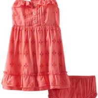Baby Togs Baby-girls Infant Eyelet Dress