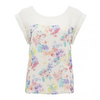 Brianna print spliced tee Buy Dresses, Tops, Pants, Denim, Handbags, Shoes and Accessories Online Buy Dresses, Tops, Pants, Denim, Handbags, Shoes and Accessories Online