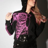 $60.00 Wishbone Sequins Hoody - Iron Fist Clothing