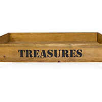 """Treasures"" Rolling Storage CrateFACE TO FACE"