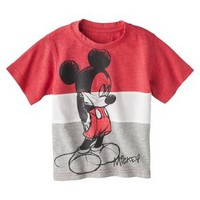 Disney® Mickey Mouse Infant Toddler Boys' Short-Sleeve Tee
