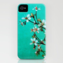 moody florets iPhone Case by Iris Lehnhardt | Society6