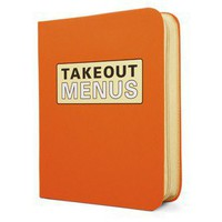 Takeout Menu Organizer ? A Repository for All Your To-Go Needs by Knock Knock