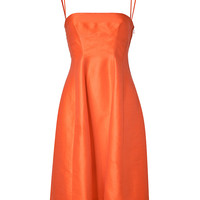 Dsquared2 - Ramie-Silk Blend Cocktail Dress