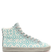 Kim & Zozi Gypster Printed High Top Sneakers - Womens Shoes - Green