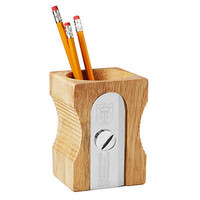 SINGLE SHARPEN PENCIL HOLDER | fun desk accessories, desk organizer | UncommonGoods