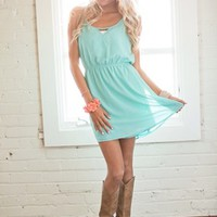All Smiles Summer Dress Mint