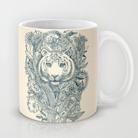 Tiger Tangle Mug by micklyn