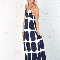 Beach Getaway Dress Navy