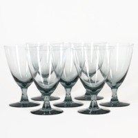 Goblets in Smokey Black Crystal