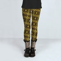 Op Art Style Pattern by Daniel Ferreira-Leites (Leggings)