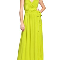 Women's Cross-Front Maxi Dresses