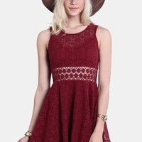 Dancing Nights Lace Dress | Threadsence
