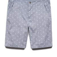 Nautical Chambray Shorts