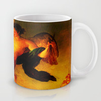 The angel sower of butterflies Mug by Ganech joe