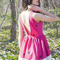 Pink Day Dress - New York Couture Limited Edition | UsTrendy