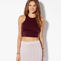 CROPPED TANK MADE IN ITALY BY AEO