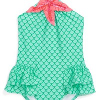 Love U Lots 'Mermaid' One-Piece Swimsuit (Toddler Girls) | Nordstrom