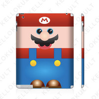 iPad 2 Skin Mario from Super Mario Brothers by kellokult on Etsy