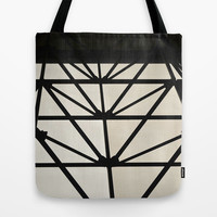 Abstract Construction  Tote Bag by Sari Klein