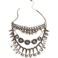 Pre-Order: Tribal Rhinestone Necklace Set
