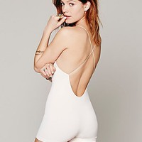 Intimately Womens Low Back Seamless Romper
