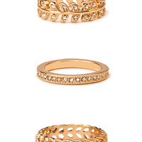 Down-To-Earth Stackable Ring Set