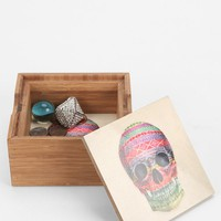 Terry Fan For DENY Skull Box - Urban Outfitters