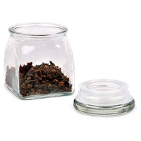 S/6 Airtight Glass Spice Jars