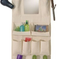 Canvas Organizer with Mirror - Dorm room organization college things stuff for college dorm room needs college organizer dorm