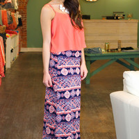 Boho Maxi Skirt | uoionline.com: Women's Clothing Boutique