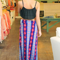 Printed Maxi Skirt | uoionline.com: Women's Clothing Boutique