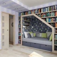 Cozy book nook - Imgur
