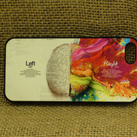Left and right brain , iPhone 4 case , iPhone 4S case , iPhone 5 case , iPhone 5S case , iPhone 5C case