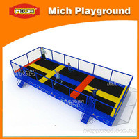 Source Mich big best deisgn Imported material water playging bounce cheap trampoline on m.alibaba.com