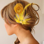 YELLOW SONGBIRD one of a kind bridal occassional by portobello
