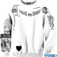 Bad Boy tattoo Crewneck
