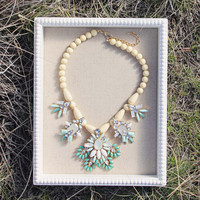 Hive & Honey Necklace in Turquoise - Turquoise