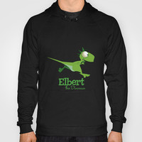 Elbert the Dinosaur Hoody by Jonathan Wilson