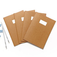 Kraft Lined Notebook Set