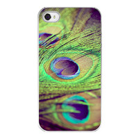 Peacock Iphone case  Iphone cover for Iphone 4 by RetroLoveCases