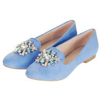 MOONSTONE Jewelled Slippers