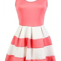 The Skater Colorblock Dress - 29 N Under
