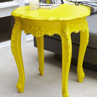 OUTDOOR BAROUQUE SIDE TABLE - Horchow