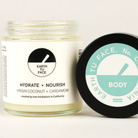 COCONUT CARDAMOM BODY BUTTER - Curator