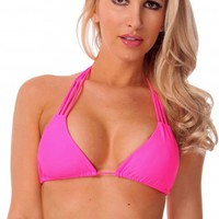 Pink Sunset Halter Top